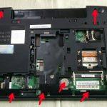Lenovo B590の分解作業