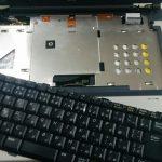 NEC VY17F/RF-Wの分解作業