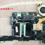 ThinkPad X220 の分解作業