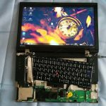 ThinkPad L520 の分解作業